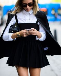 Black & White Looks nach denen wir verrückt sind! | what to wear