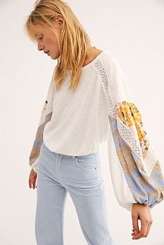 Looking for Free People Women's Casual Clash Top ? Check out our picks for the Free People Women's Casual Clash Top from the popular stores - all in one. Fall Outfits For Work, Casual Fall Outfits, Women's Casual, Casual Wear, Girls Tunics, Free People Store, Crochet Trim, What To Wear, Clothes For Women