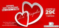 San Valentino in Romagna. Prenota il Week end a soli 29,00 a persona a notte  colazione e imposta di soggiorno  inclusa. Posti limitatissimi