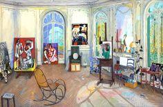 Intercepted by Gravitation | Damian Elwes More artist's studios (Monet,...