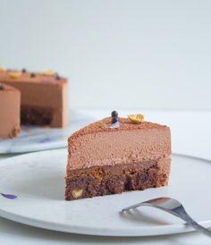 Chokolademousse og chokoladepraline (fryseegnet)