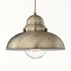 Ideal Lux függeszték - SAILOR SP1 D43 BRUNITO - lámpa, csillár, világítás, Vészi lámpa webáruház