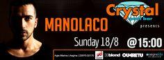 MANOLACO Crystal Pool Bar 18.08