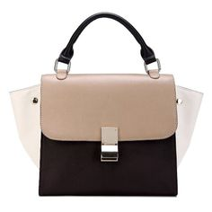 Amazon.com: IUHA Genuine Smooth Leather Celebrity Trapeze Baguette Bag Sale 67% Off (Org $298.99) FREE SHIPPING (Beige): Clothing