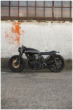 Kawasaki Cafe Racer #motorcycles #caferacer #motos | caferacerpasion.com