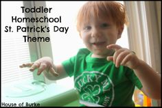 Toddler Homeschool: St. Patrick's Day Theme Wrap Up - House of Burke
