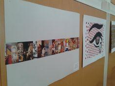 Exhibición de la cátedra de Apreciación Artística en la Biblioteca Max von Buch. 14-06-13, Campus de la Universidad.