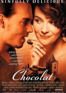 Mysig och romantisk film... mm blir så sugen på choklad :)