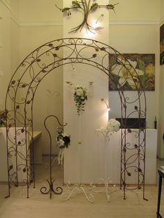 Wedding arch, stands, hook