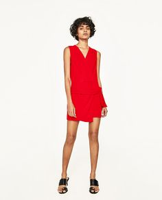ZARA - WOMAN - SHORT JUMPSUIT WITH KNOT