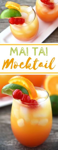 Try pairing this refreshing Mai Tai Mocktail with PF Chang's Home Menu Family-Size Orange Chicken on christmas mocktails Mocktail Drinks, Non Alcoholic Drinks, Refreshing Drinks, Kids Mocktails, Nonalcoholic Summer Drinks, Luau Drinks, Christmas Mocktails, Healthy Eating Tips, Healthy Drinks