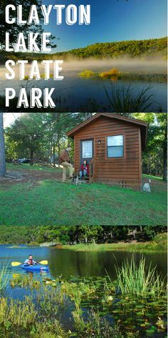 In Beautiful Southeastern Oklahoma Clayton Lake State Park Offers 500 Acres Of Mountains RV