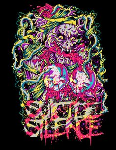 Suicide Silence t-shirt artwork