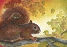 De eekhoorn, eigen werk Baukje Exler
