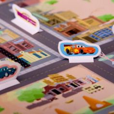 It's time to go cruisin' through Radiator Springs! You and your little preschooler will have a great time putting together and playing with this Cars' Junior Junction playset.