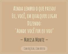 Ainda Lembro - Marisa Monte
