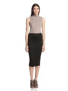 42% OFF Rick Owens Lilies Women's Short Pillar Skirt (Black)