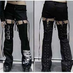 Unique Trendy Punk Gothic Clothing Skirts Pants Shorts Mens Womens