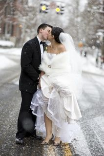 if it snows on my wedding day...its in November so anything can happen weather wise