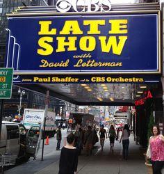 Ed Sullivan Theater - Late Show w/ David Letterman #BlogHer12