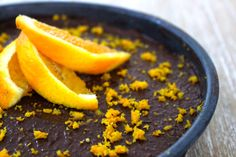 Chocolate Orange Cheesecake - The Fit Foodie