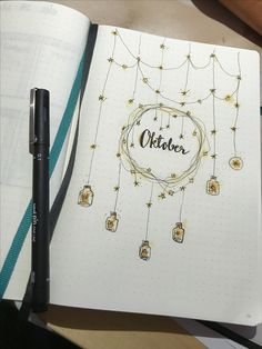 Oktober Bullet Journal theme
