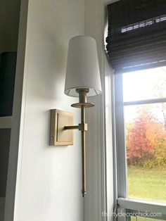How to add a light fixture anywhere (without electricity!) from Thrifty Decor Chick