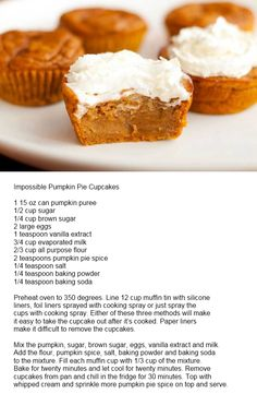 Pumpkin Cupcakes-because Thanksgiving is coming!!