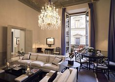 Sheik and beautiful interiors for a classy and fabulous apartment! Great high ceilings and an even better chandelier! Beautiful Home. New York Apartments, Luxury Apartments, Luxury Condo, Beautiful Interiors, Beautiful Homes, Living Area, Living Spaces, Living Room, Condo Living