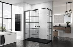 120 Modern Farmhouse Bathroom Design Ideas And Remodel – Home Design Modern Farmhouse Bathroom, Rustic Bathrooms, Modern Bathroom Design, Farmhouse Design, Modern Bathrooms, Farmhouse Ideas, Large Bathrooms, Amazing Bathrooms, Small Bathroom