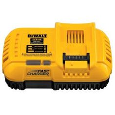 Dewalt 20 Volt Max Lithium Ion Fan Cooled Fast Battery Charger Dcb118 The Home Depot Dewalt Battery Charger Charger