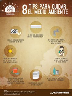 8 tips para cuidar el medio ambiente #ResponsabilidadSocial Spanish Teaching Resources, Teaching Themes, Vocabulary List, Spanish Vocabulary, Ap Spanish, How To Speak Spanish, Spanish Interactive Notebook, Spanish Speaking Countries, Weather And Climate