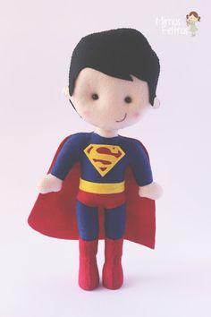 Super Homem Mimos e Feltros :D