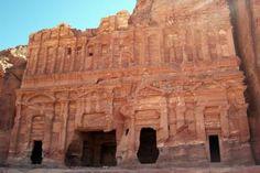 Rotswoningen in Petra