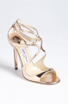 Jimmy Choo 'Lance' Sandal available at #Nordstrom.      My favorite heel, if only I could afford them!