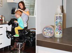We love Tangled Tantrum hair paste and detangling conditioning  spray for our little peanuts!