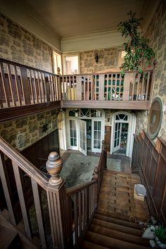 Inside the abandoned villa near Brecht, Belgium.