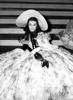 "Vivien Leigh .... ""Gone With The Wind"" ( 1939)"