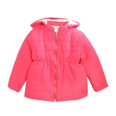 Shop for this girly cute looking jacket with a hood and collar. You will look gorgeous in this beautiful jacket with an even prominent zipper and quilted pattern. Fabric: Polyester Color: Fuchsia Length: Regular Length Neck: Hood Sleeve: Full Sleeve Pattern-Work: Solid Washcare: Regular Machine Wash Cherry Crumble, Girls Coats & Jackets, Color Fuchsia, Looking Gorgeous, Beautiful, Sleeve Pattern, Pattern Fabric, Fashion Kids, Hooded Jacket
