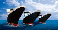 On my lifelong want list- travel on each of the 3 Queens of the Cunard Line
