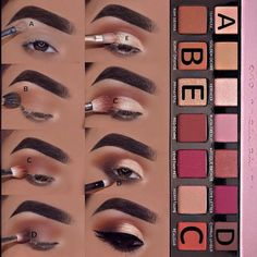 Tutorial for Anastasia BH Modern Renaissance Augen Makeup, , Tutorial for Anastasia BH Modern Renaissance Tutorial für Anastasia BH Moderne Renaissance Make up. Flawless Makeup, Skin Makeup, Eyeshadow Makeup, Eyeshadows, Makeup Brushes, Gorgeous Makeup, Awesome Makeup, Perfect Makeup, Eyeshadow Steps