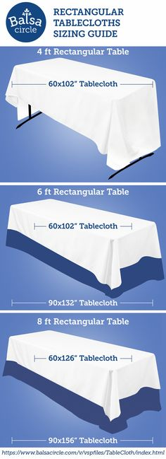1000 Ideas About Tablecloth Sizes On Pinterest Table