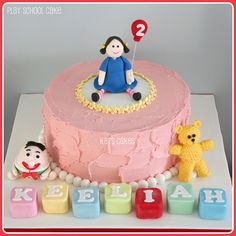 Play School cake by Kat's Cakes