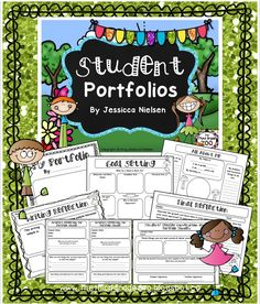 $ Student Portfolios. The goal of this student portfolio is for students to set goals that are important to them, independently monitor their learning growth with student selected work samples and reflections, and for student to gain a better understanding of the way they learn best...