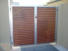 Wood and Metal Gate