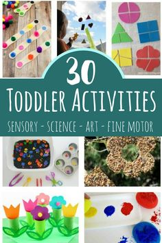These toddler activities will help 1 and 2 year olds engage with the world throu. - These toddler activities will help 1 and 2 year olds engage with the world through sensory play art - Activities For 1 Year Olds, Sensory Activities Toddlers, Motor Activities, Infant Activities, Sensory Play, Educational Activities, Children Activities, Indoor Activities, Toddler Art