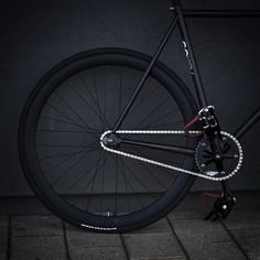 Fixed-Gear Bicycle.