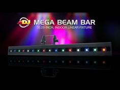 American DJ Mega Beam Bar Stage Light at zZounds