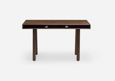 Elliot Desk | Jason Miller | The Future Perfect Standard Desk Height, Table And Chairs, Dining Chairs, Jason Miller, Brooklyn Brownstone, Dressing Table, White Oak, Joinery, Old And New