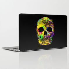 Cool laptops skins !  http://society6.com/product/death-can-be-cool-too_laptop-skin#2=148